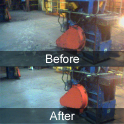 Equipment Cleaning - remove coal and ash debris